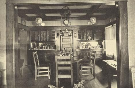 Craftsman House Interiors.  Site full of Historic information on home construction and design.