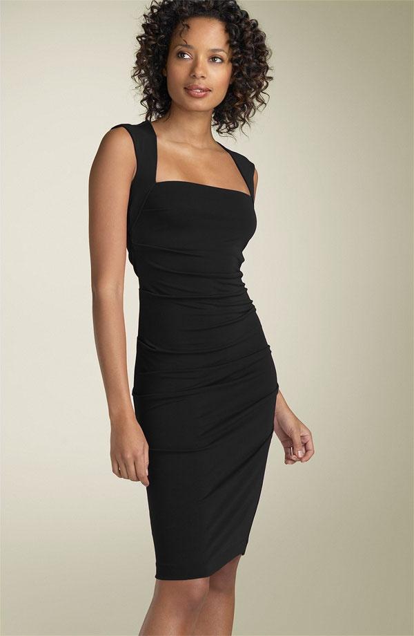 Wedding cocktail dress--great little black dress
