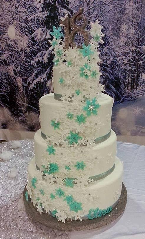 18° Birthday Cake frozen