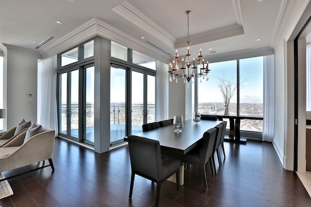 Four Seasons Luxury Condominiums 50 Yorkville Ave Toronto For Sale Unit 4602 Large Dining Room Victoria Boscariol Chestnut Park Real Estate