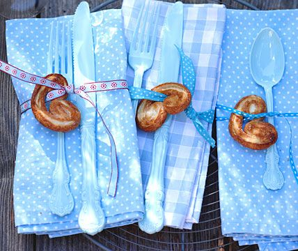 Weiß und Blau - Oktoberfest: feiern wie auf der Wiesn 9 - [LIVING AT HOME]