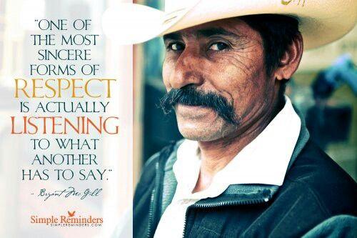 Listen more to understand...