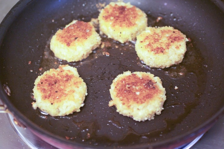 Meyer Lemon Chile Risotto Cakes | Recipe