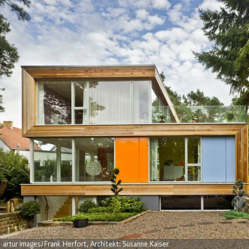 Haus Kreative Konstruktion in SForm Architektur haus