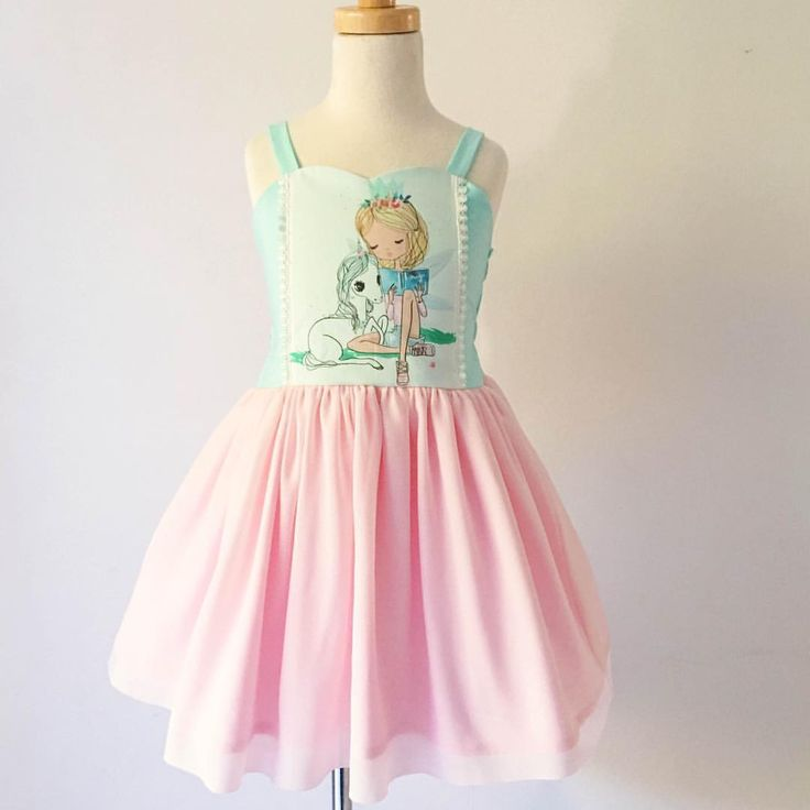 Unicorn dress, unicorn, girls dress, unicorn party, tulle dress