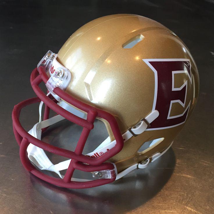 Elon mini helmet college football helmets football