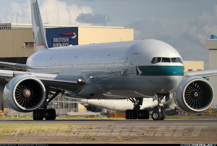 Cathay Pacific Boeing 777-367/ER @LHR