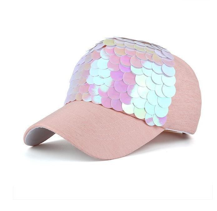 This Fashionable Baseball Cap Will Make You Elegant No Matter What The Occasion Its Blingy Design Makes It Unique And Its Textures Brilliance And Sequins Gi
