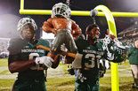 Michigan State coach Mark Dantonio gets Maxwell the game's final snap in the Spartans' 29-6 win against Michigan, as other seniors stepped up in the win.