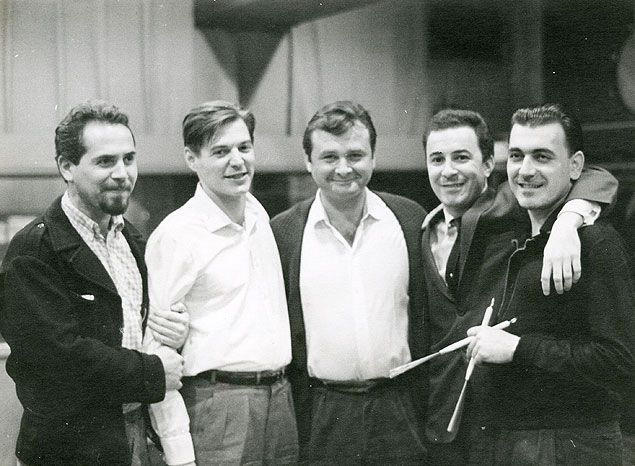 At The Getz Gilbert Session 1964 From L To R Phil Ramone