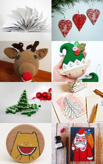 ~ Christmas Memories ~  by Chicca on Etsy--Pinned with TreasuryPin.com