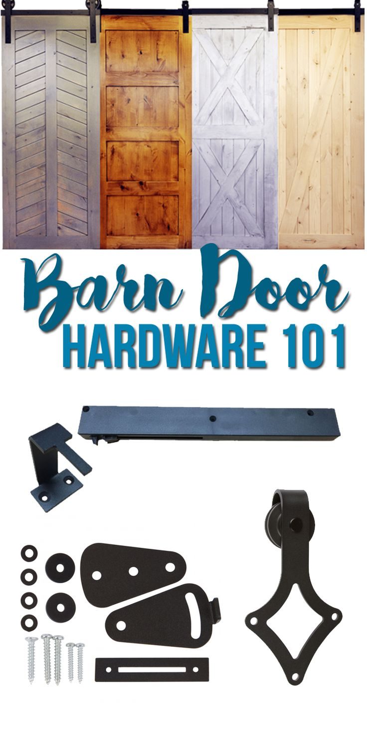 Everything you ever wanted to know about barn door hardware and the best source for buying barn doors online.