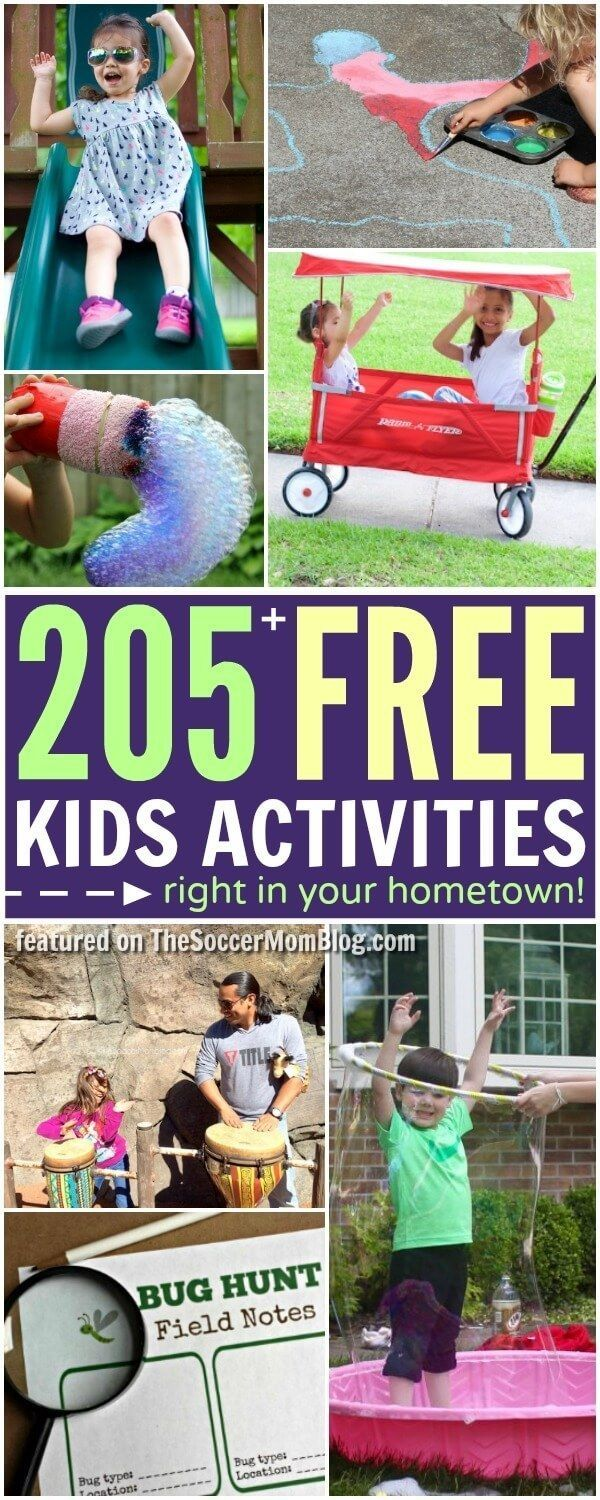 Beat boredom this summer with this HUGE collection of free kids activities! Perfect for the years when a family vacation just isn't in the budget.
