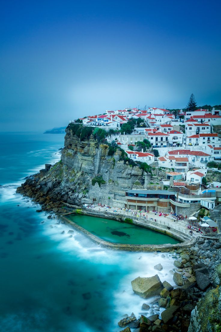 Azenhas Do Mar, Sintra, Portugal | Pari Comninos on 500px