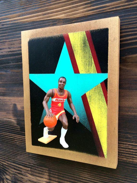 Spud Webb // 3 Dimensional basketball cards // by Paintonwoood