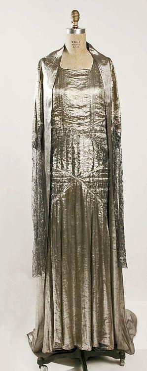 Evening Ensemble Jeanne Lanvin, 1930 The Metropolitan Museum of...