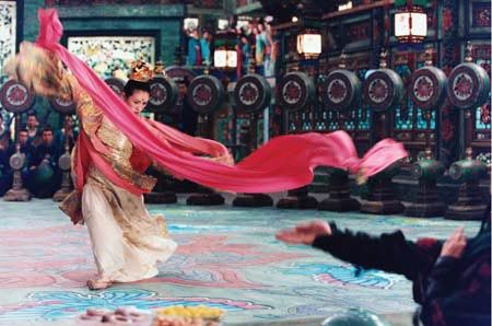 House of the Flying Daggers- the colors in this whole film are amazing. I can't find any photos that do it justice.