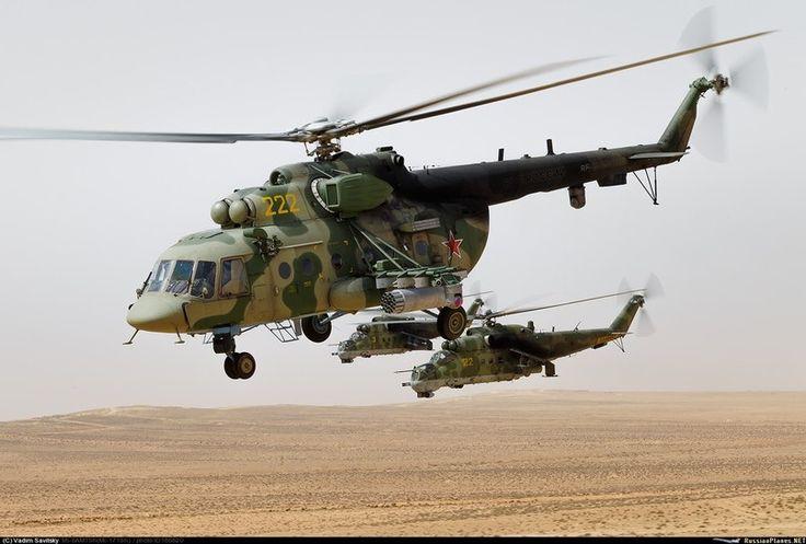 Mi-8, Mi-24