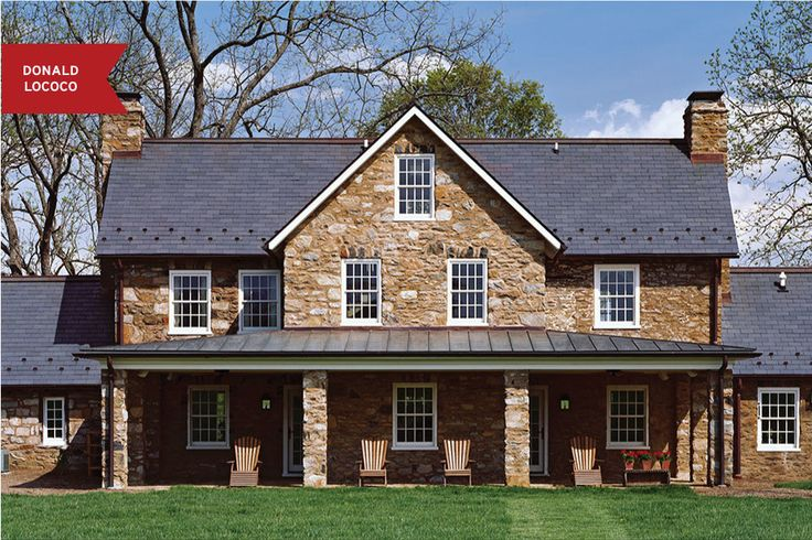 12 Stately Homes With Stone Exteriors Around The Country