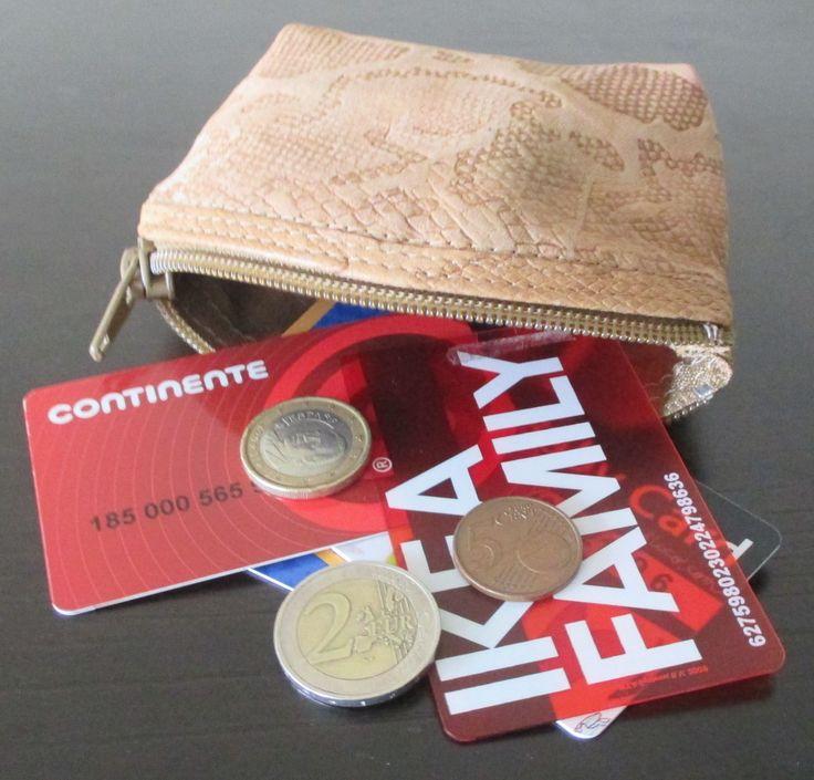 coin purse / porta-moedas/cartões/etc