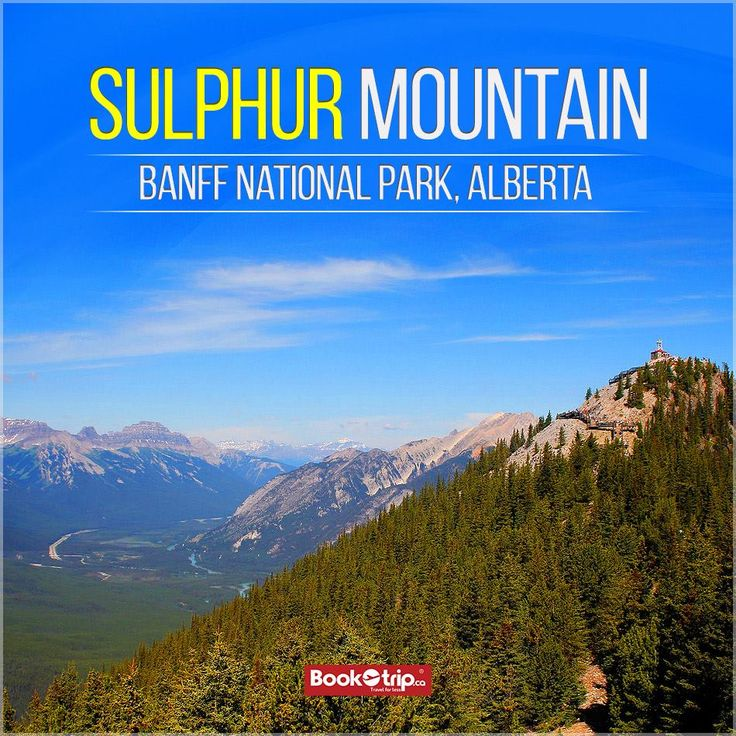 #SulphurMountain has to experience a stunning bird's-eye view of six incredible mountain ranges. To take the View book a package: (888) 379 1003