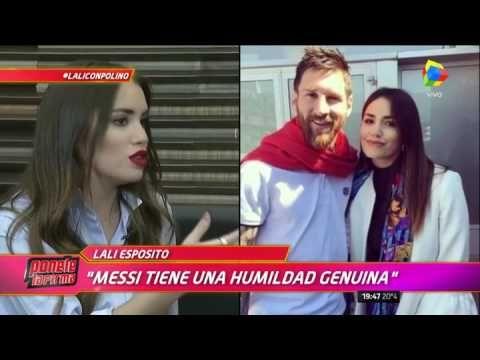 """Lali Espósito, mano a mano con Polino: """"Con Santiago fue amor a primera ..."""