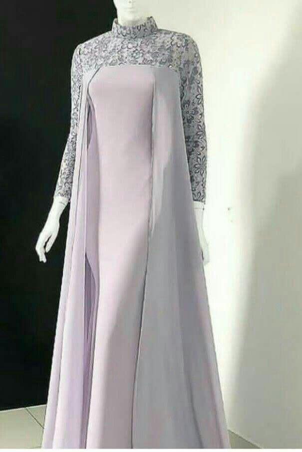 Model Baju Dress Pesta : Gamis Brokat Model Baju Wanita ...