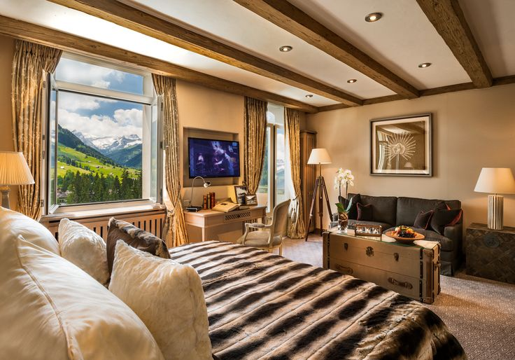 Deluxe Suite Hotel Gstaad Palace Inside And Outside