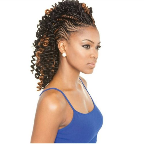 Protective Stylin It: Cornrows ❤  #LuvYourMane                                                                                                                                                     More