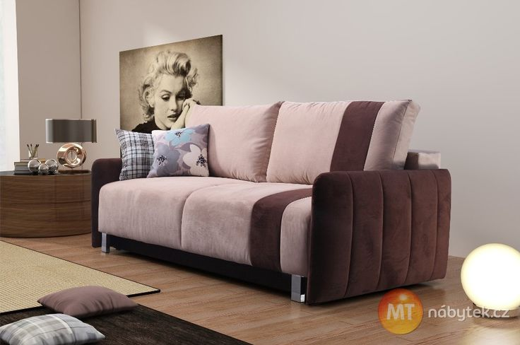 Rozkládací pohovka Kendra - odpočinek po náročném dni #settee #sofa #divan #couch