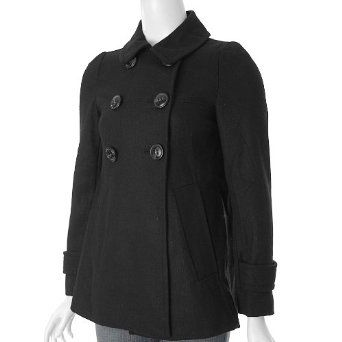 Ci Sono by Adi Juniors Double Breasted Wool Jacket Adi Designs. $67.99