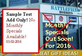 Feb 2016 Test Add for Monthly Specials