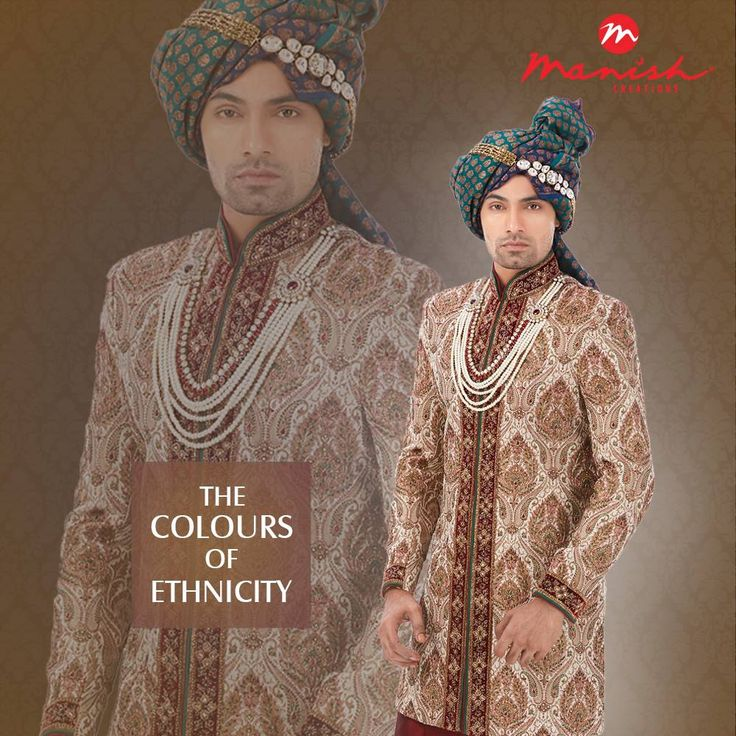Reflect the story of your nation in the attire that gives the world a glimpse of your heritage. Presenting the best in Indian ethnic wear for men.  #ManishCreations #MensFashion #IndianWear #Ethnicity #Traditional #Heritage #Royal