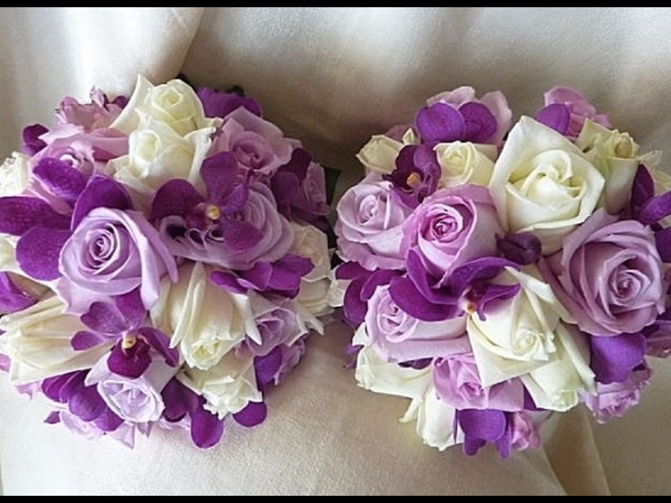 Wedding Flowers Lilydale : Images about purple wedding bouquets on