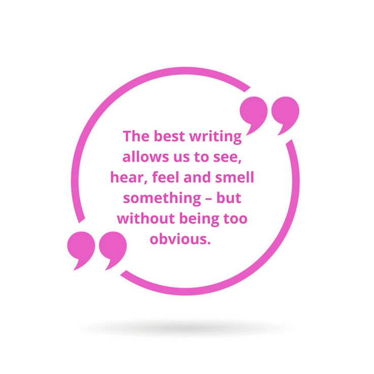 Writing Secrets: Don't be too obvious