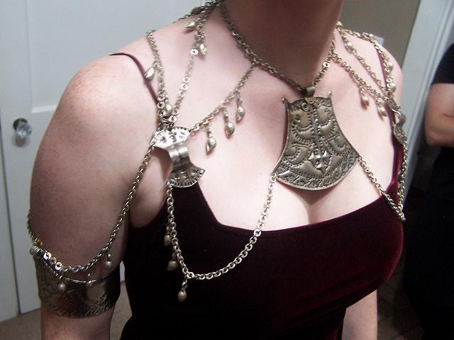 Barsoomian/Estonian Inspired Pectoral Jewelry