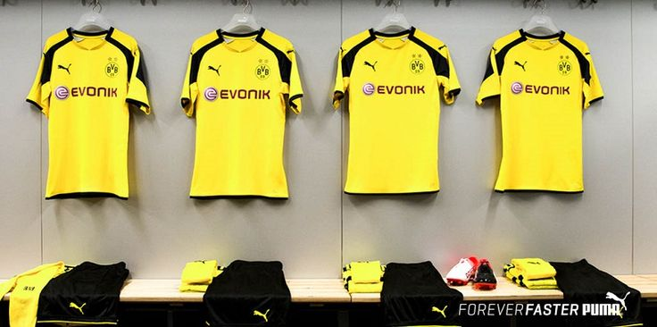 Camisa do Borussia Dortmund Champions League 2016-2017 Puma