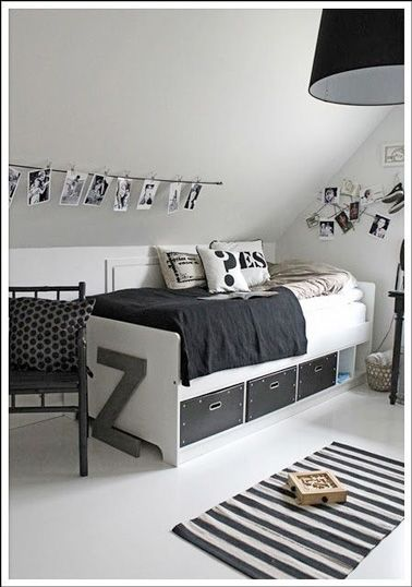 298 best images about d co chambre bedroom on pinterest belle h m and lit palette - Reactie faire une chambre d ado ...