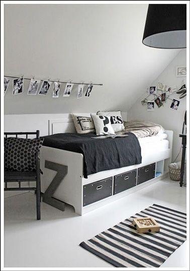 298 best images about d co chambre bedroom on pinterest belle h m and lit palette. Black Bedroom Furniture Sets. Home Design Ideas