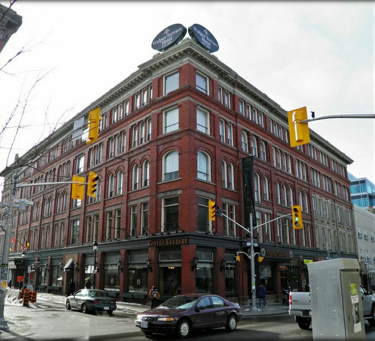 Elenor Roosevelt and Louis Armstrong stayed at the Walper Hotel in Kitchener.