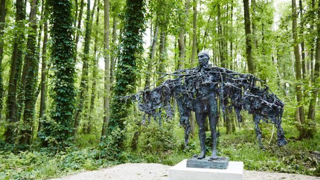 A piece at Wesenberg Sculpture Park, Germany.