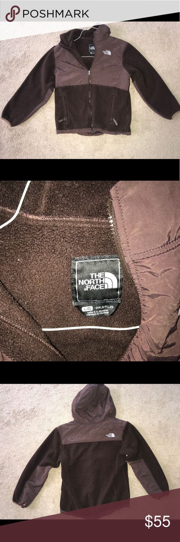 Girls North Face Jacket Zip up jacket, very warm and cozy. It has 2 side pockets. It's excellent used condition. Not worn often because I have others so it was washed very carefully maybe once. The North Face Jackets & Coats