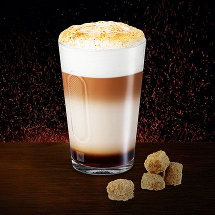 Double Crème Brulée Latte Macchiato. You'll be able to get one soon at the…