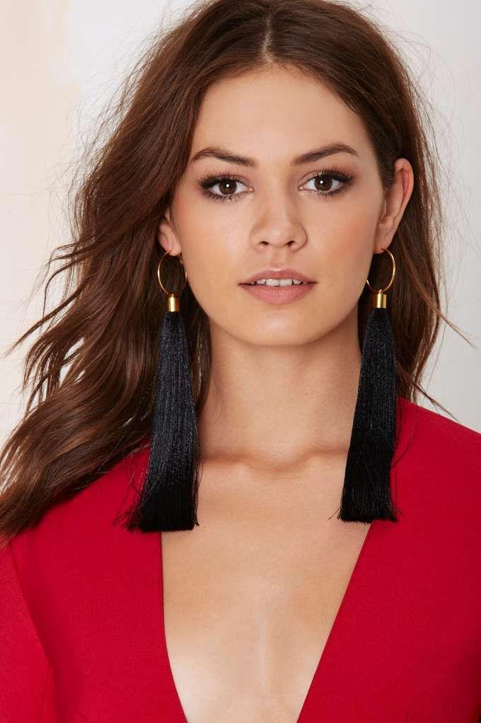 Suzywan Deluxe Aurora Silk Tassel Earrings | Shop Accessories at Nasty Gal!