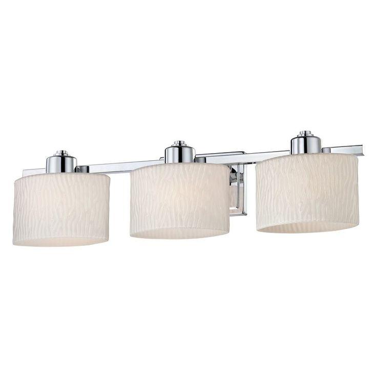 Allen + Roth 3-Light Grayson Bathroom Vanity Light