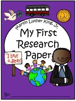 Research paper about martin luther king