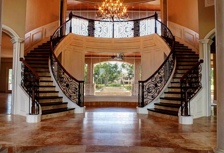 Grand Foyer Double Staircase : Best grand staircases images on pinterest