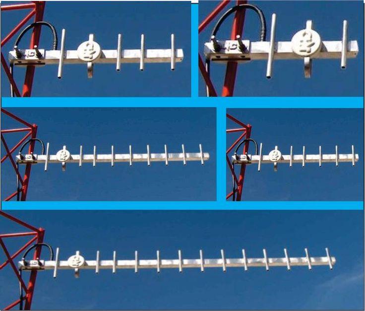 Yagis para telemetria 902-928 Mhz