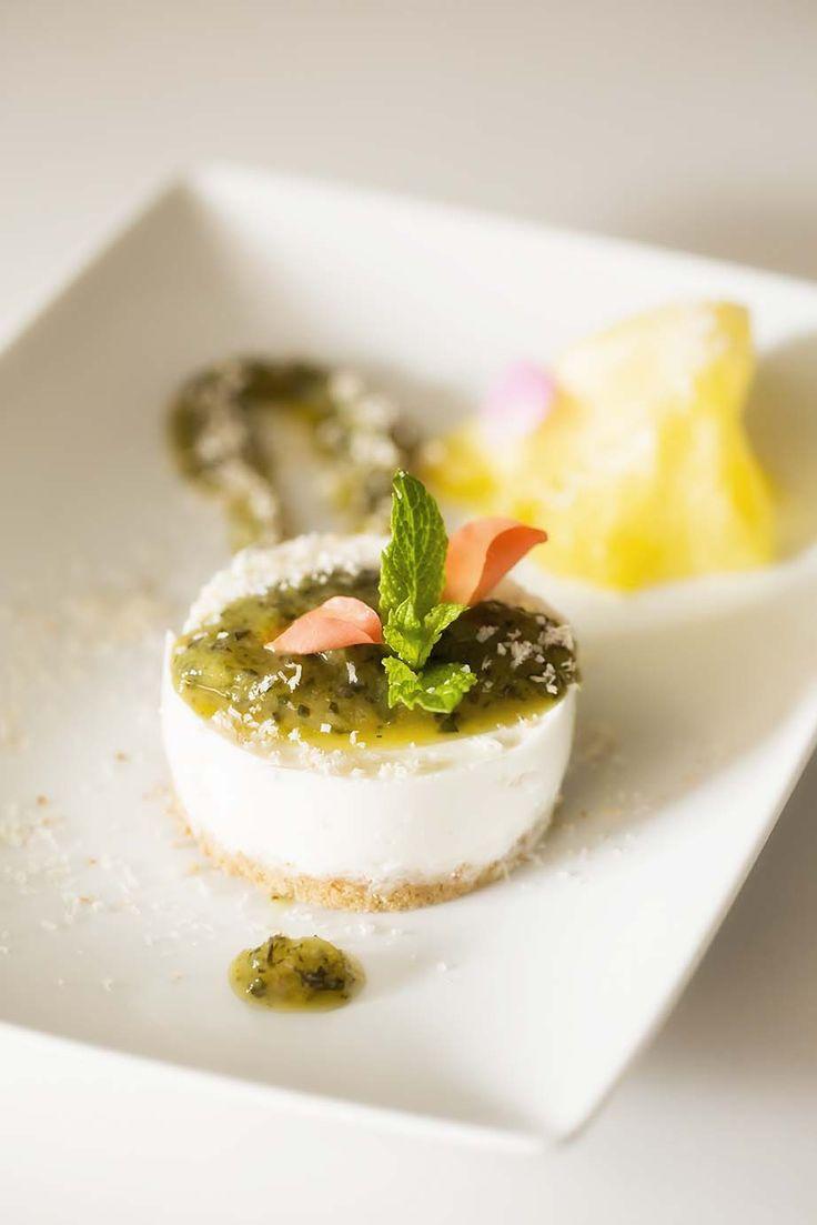Cheesecake and pinacolada