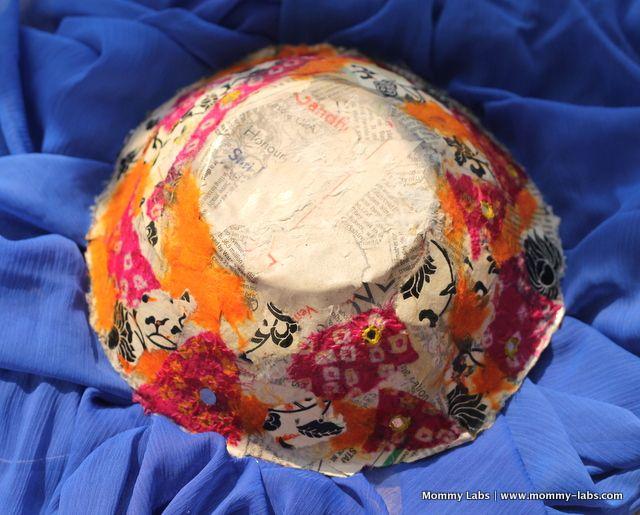Papier Mache Handmade Gifts for Diwali that Kids Can Make